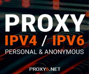proxy starting 6 cents - private ip - ipv4 - pv6