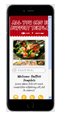 open buffet restaurant mobile website