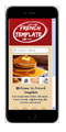 pizzeria restaurant mobile website