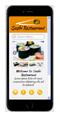 sushi restaurant mobile website