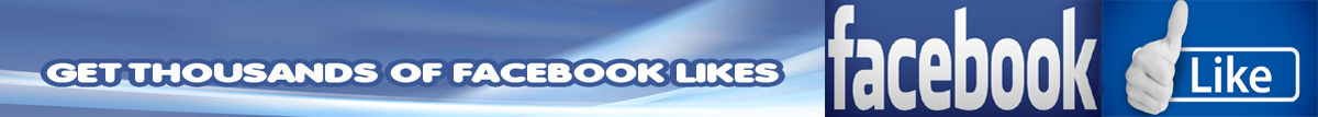get thousands of facebook likes